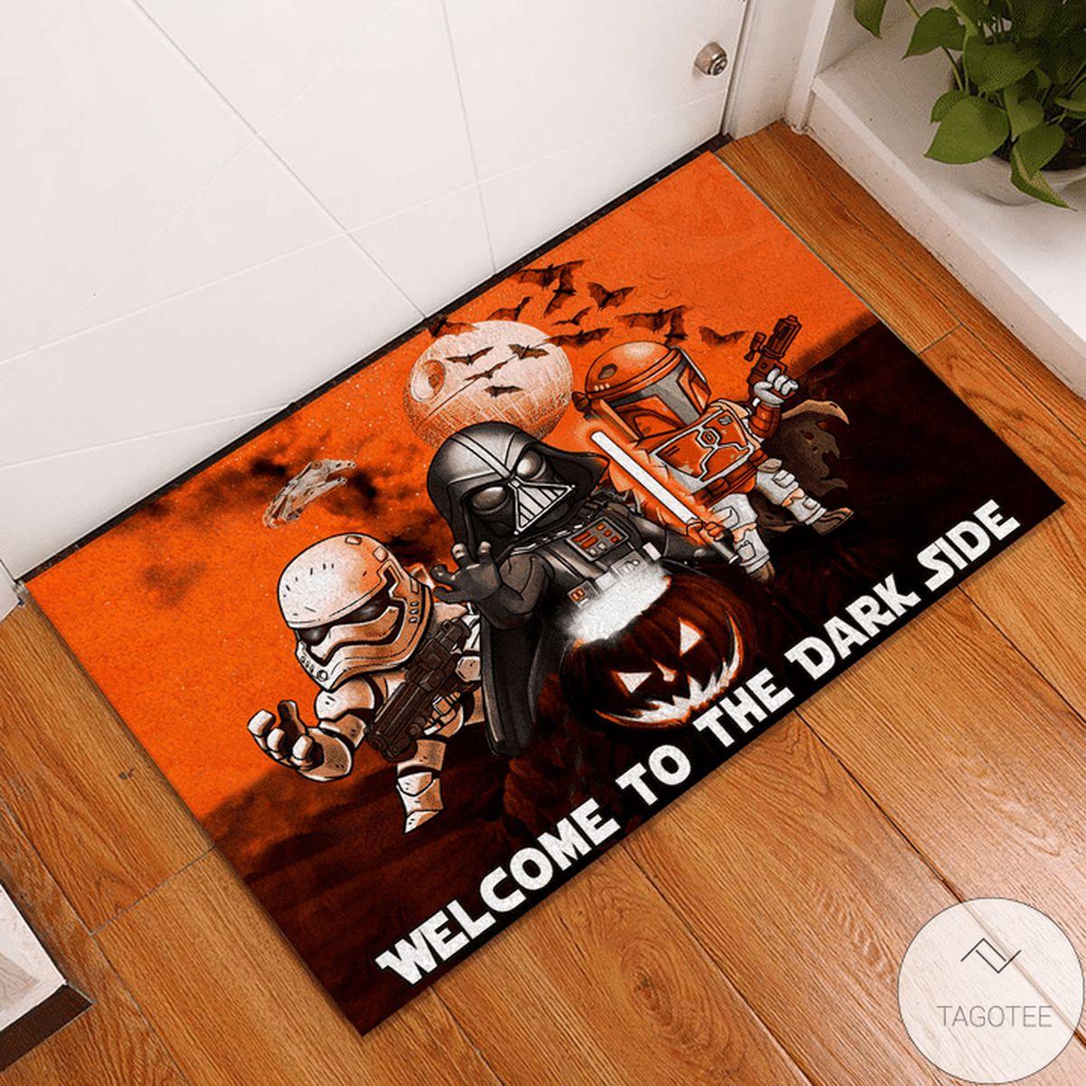 Star Wars Darth Vader Stormtrooper Boba Fett Doormat