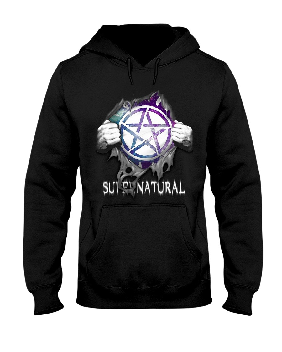 Supernatural inside me hoodie