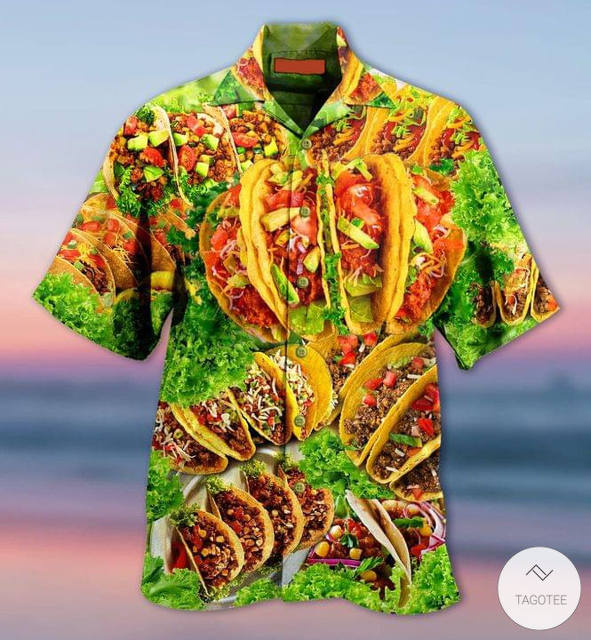 Tacos Mexican 3D Hawaiian Shirt