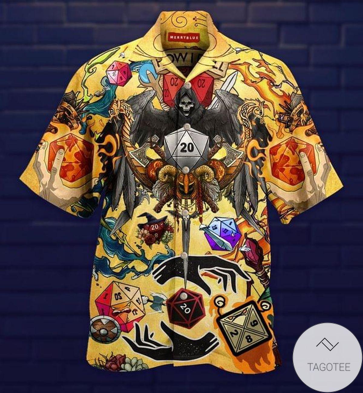 Take A Chane and Roll The Dice Hawaiian Shirt