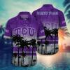 Tcu Horned Frogs Tropical Hawaiian Shirt, Beach Short