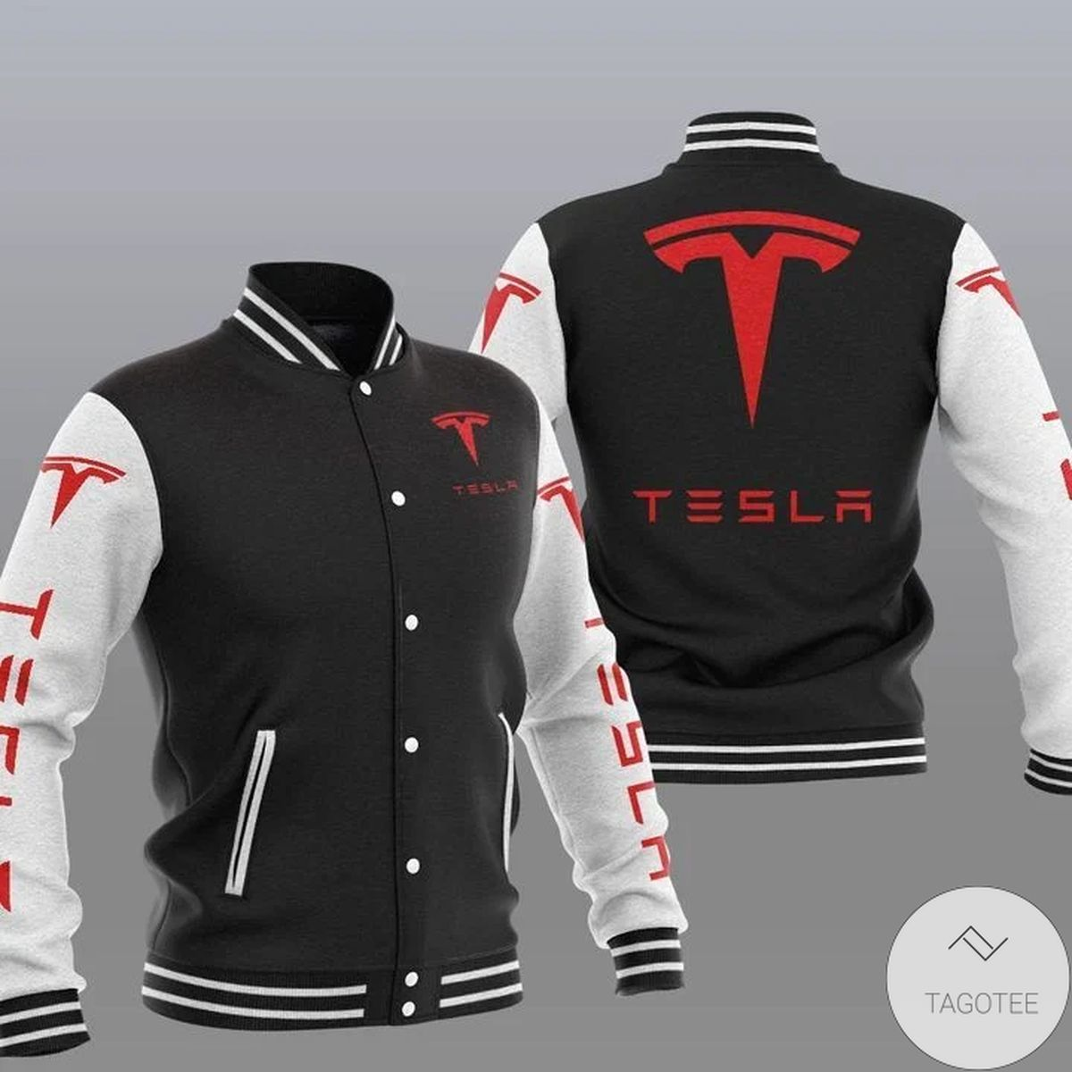Tesla Varsity Baseball Jacket