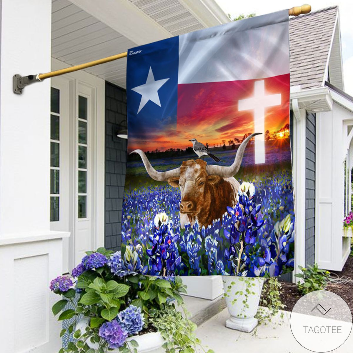 Texas Flag That Place Forever In Your Heart Flag