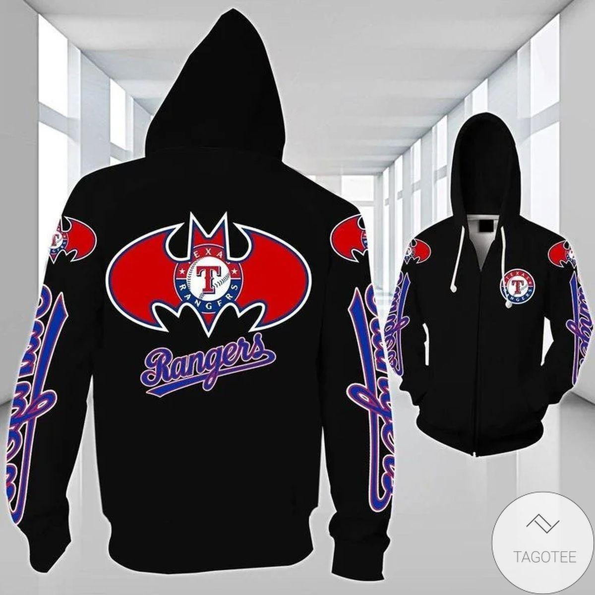 Texas Rangers Badman 3D Hoodie