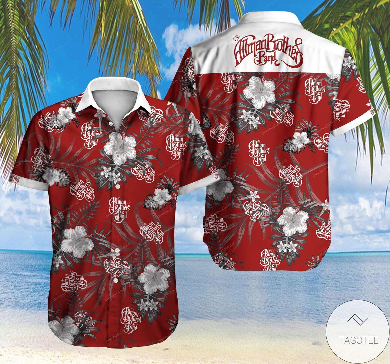 The Allman Brother Band Hawaiian Shirt