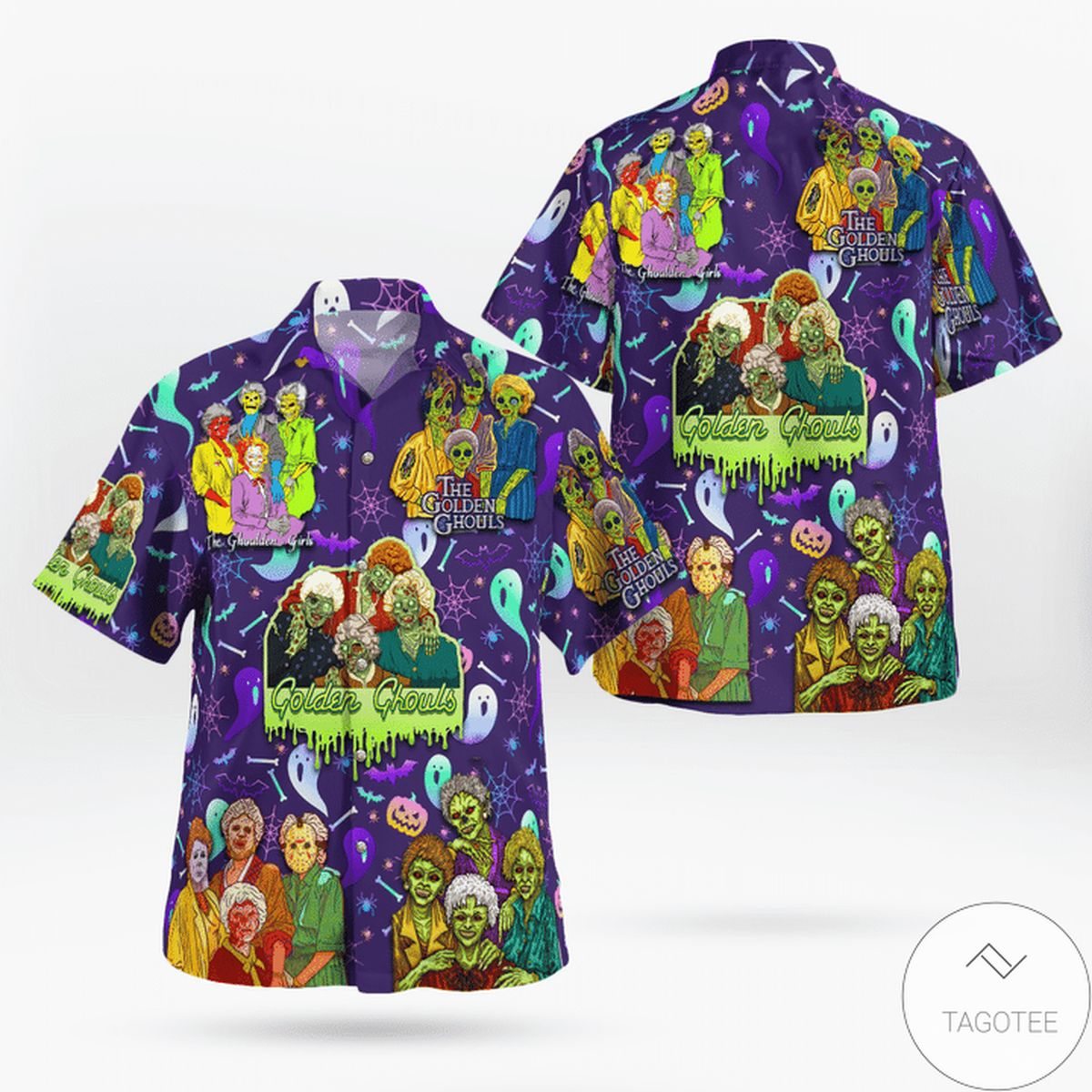 The Golden Ghouls Hawaiian Shirt