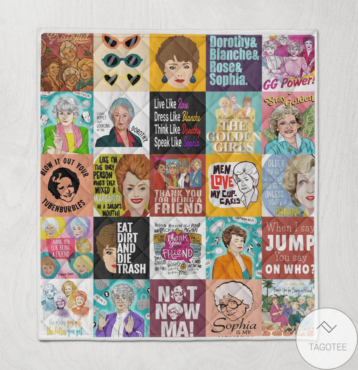 The Golden Girls Movie Blanket Quilt