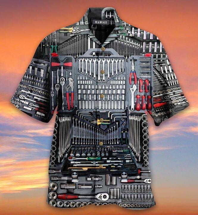 The Mechanic Tool Sets Hawaiian Shirt