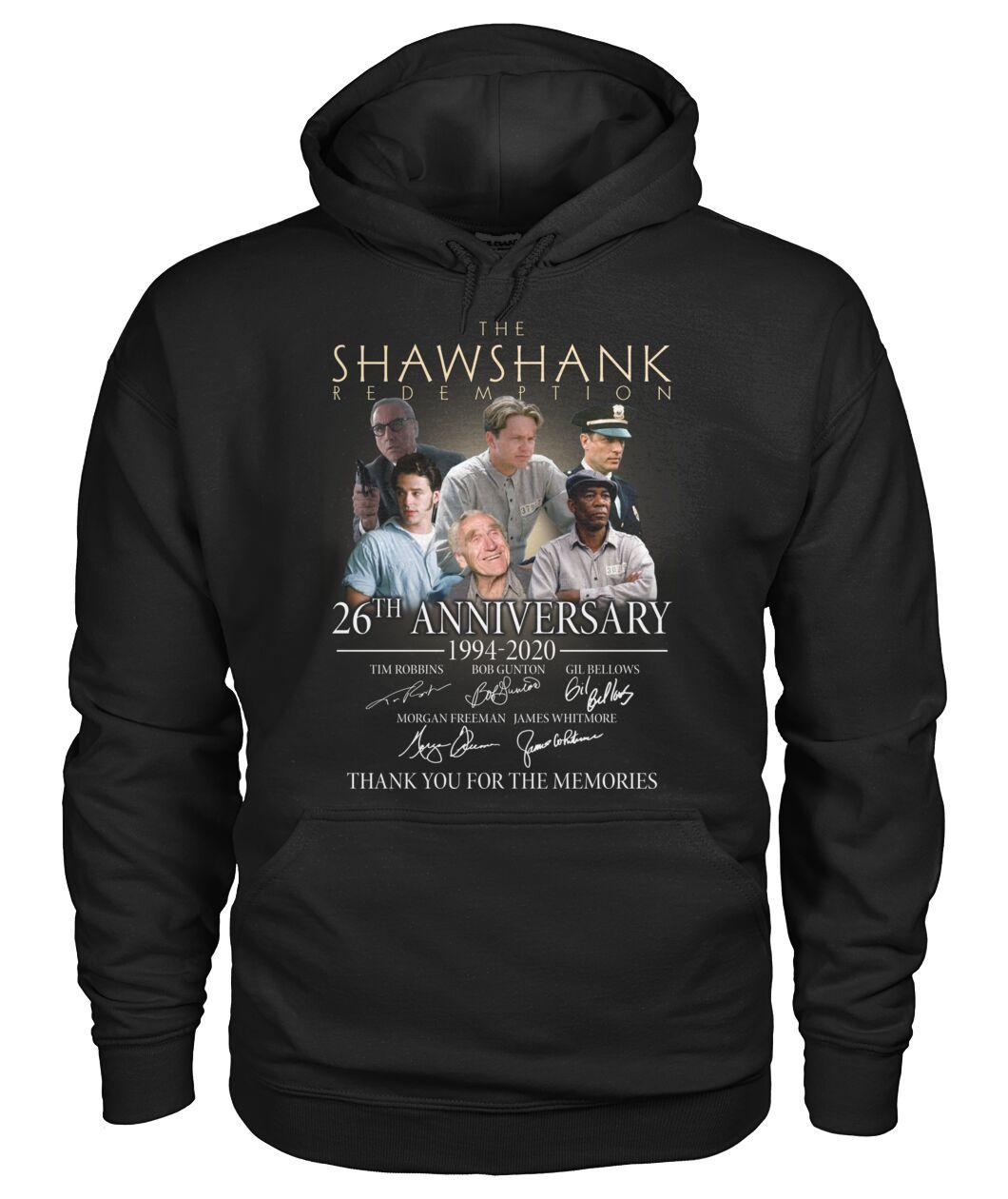 The Shawshank Redemption 26th Anniversary 1994-2020 hoodie