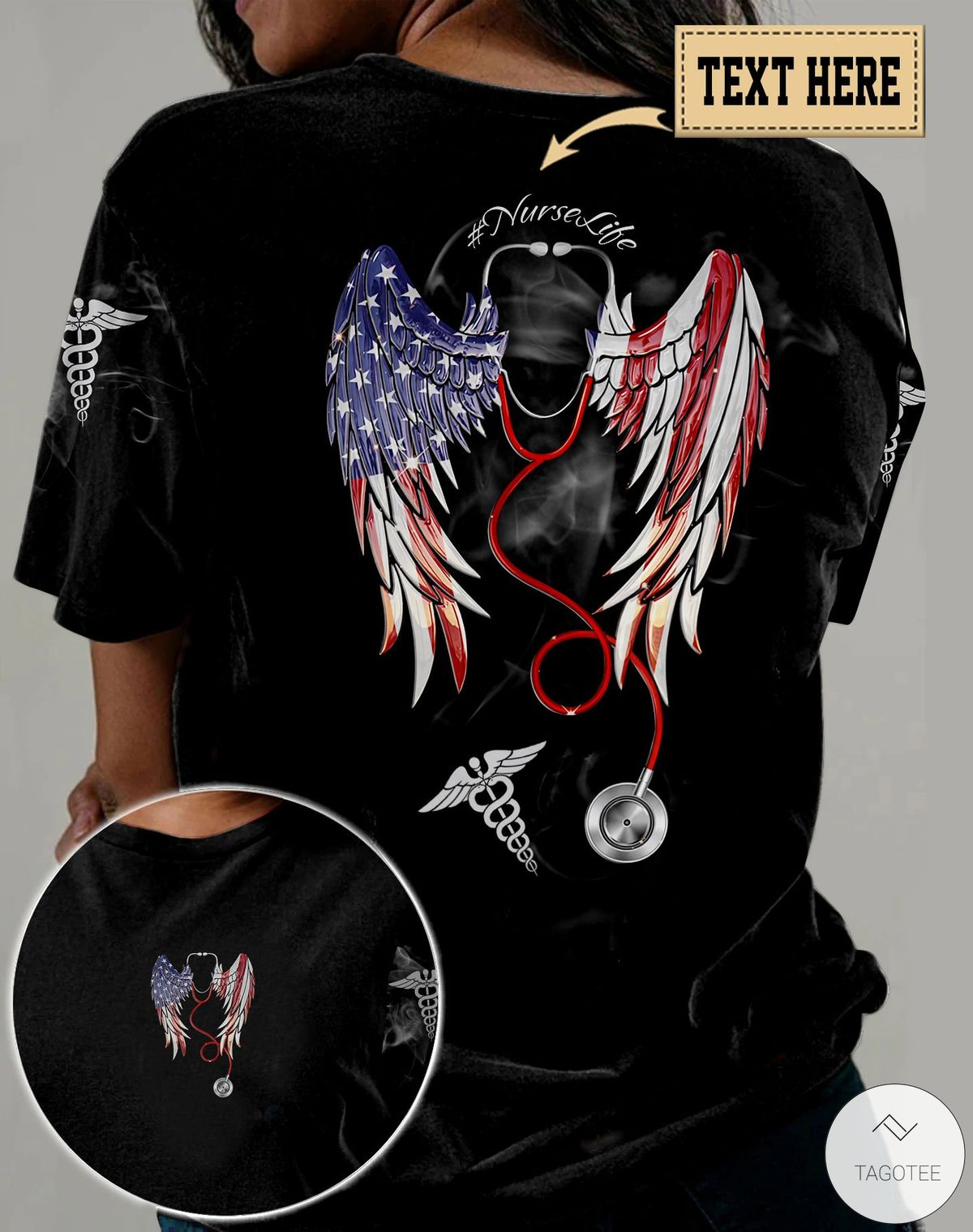 This Wings Came With The Scrubs 3D All Over Print T-shirt, Hoodie