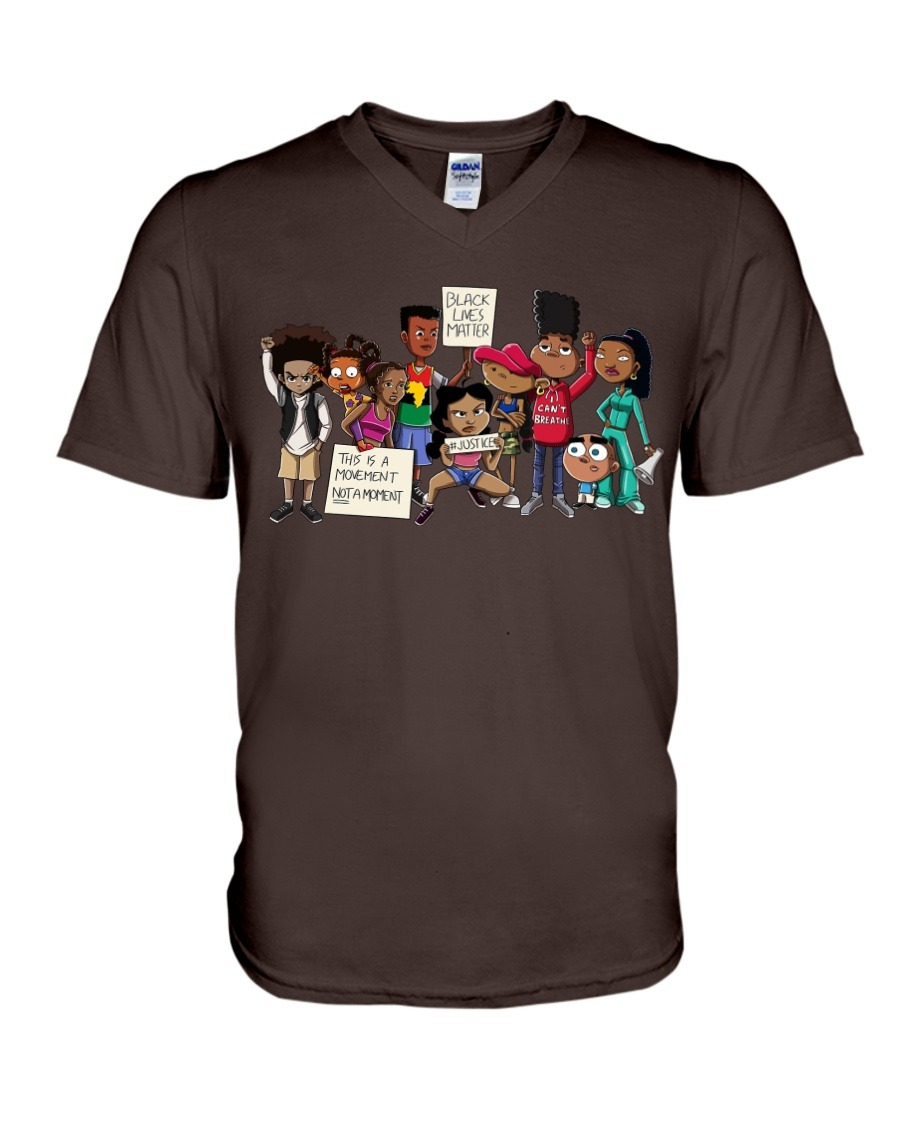 This is a movement not a moment Black lives matter V-neck