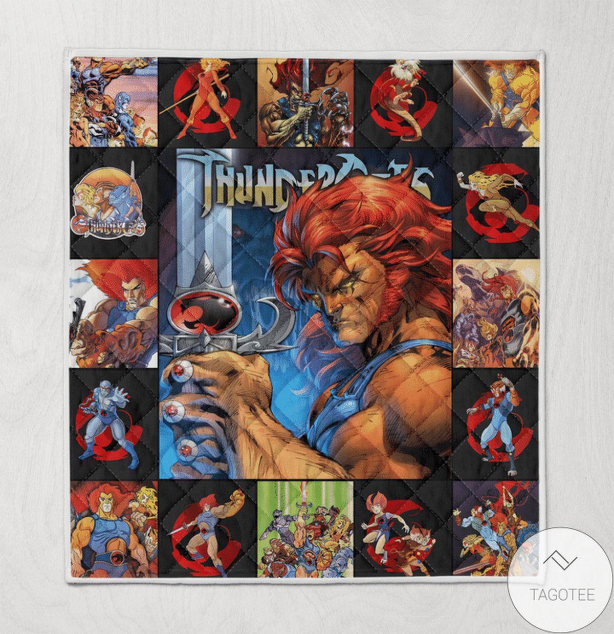 Thundercats Blanket Quilt