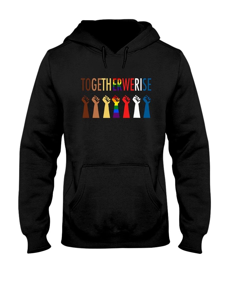 Together We Rise Black LGBT Hoodie