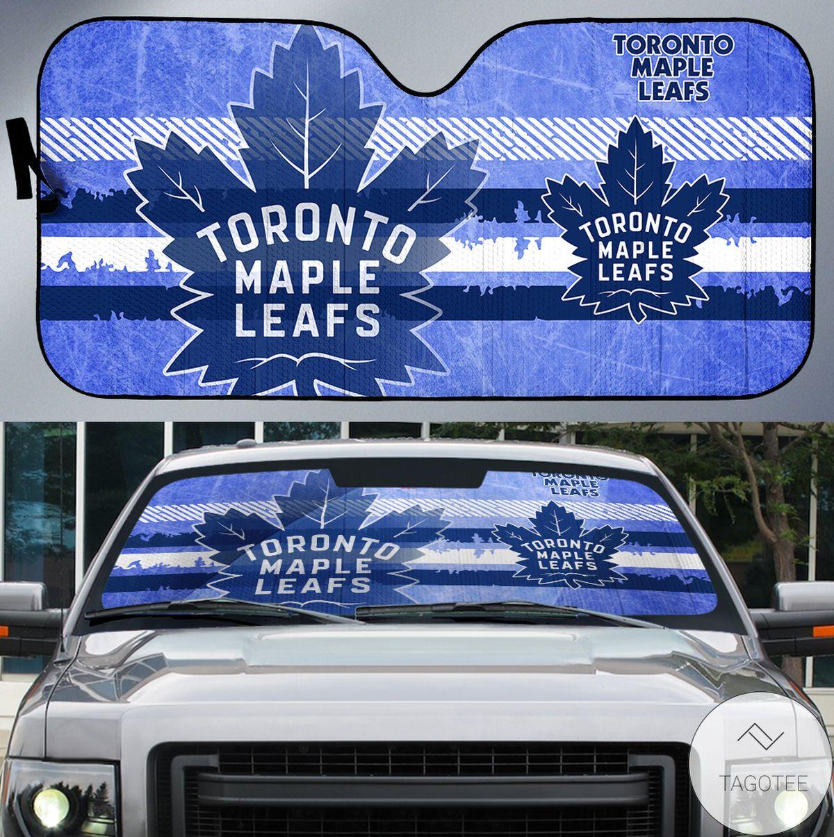 Toronto Maple Leafs Branded Universal Car Auto Sun Shade