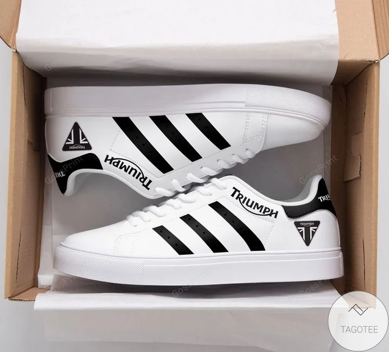 Triumph Motorcycles Stan Smith Shoes