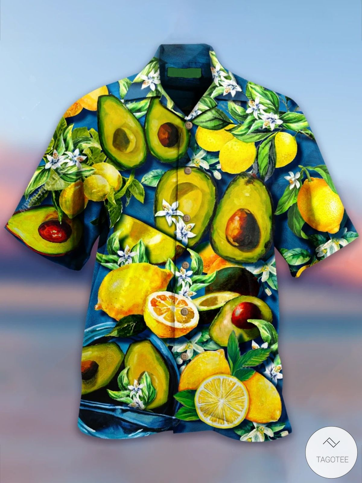 Tropical Fruit Hawaiian Shirt