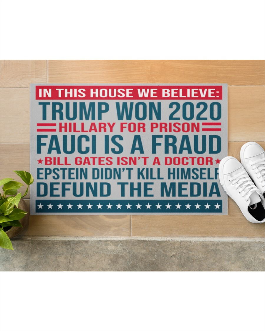 Best Shop Trump Won 2020 Hillary For Prison Fauci Is A Fraud Doormat