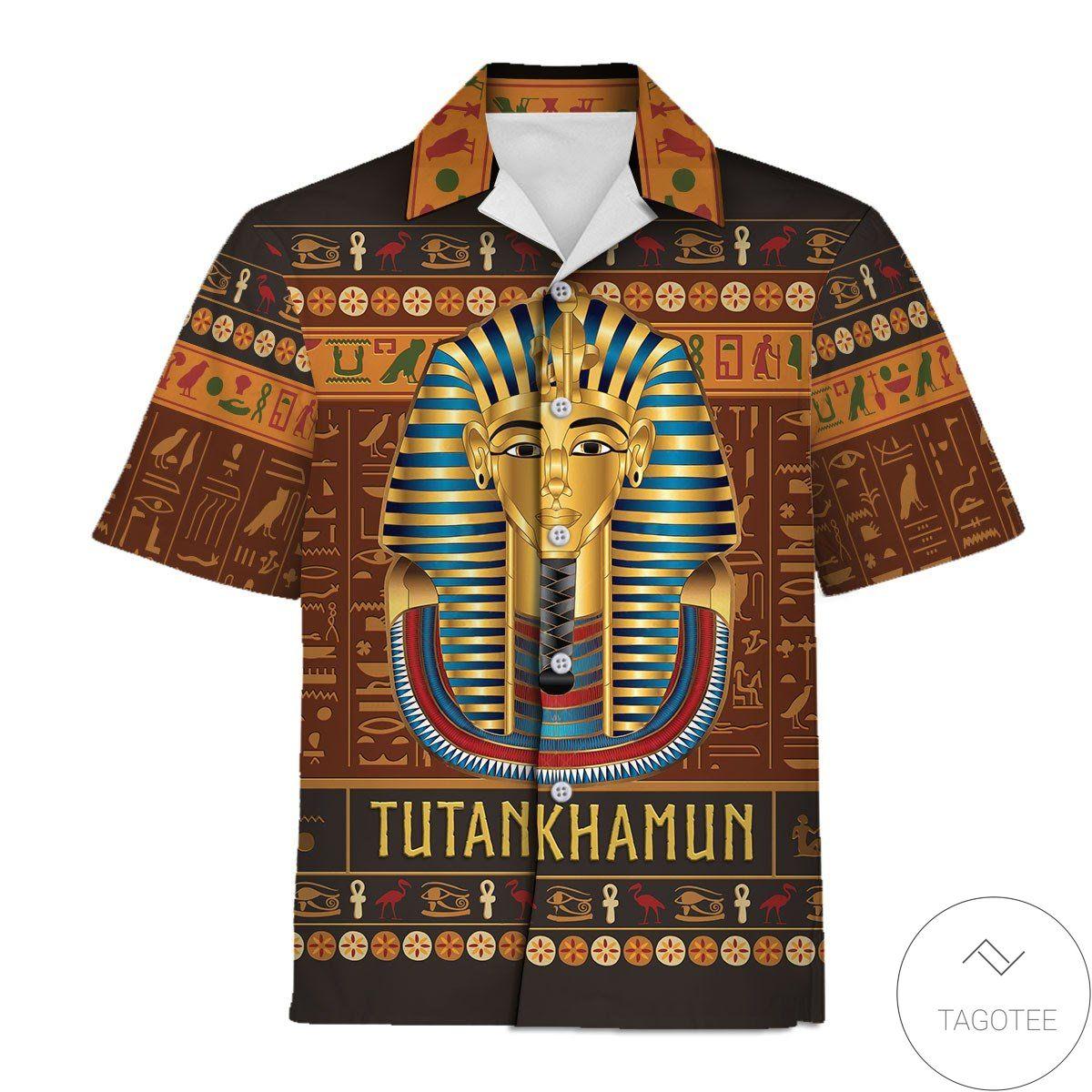 Tutankhamun Hawaiian Shirt
