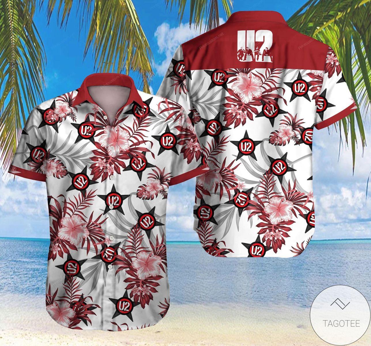 U2 Hawaiian Shirt