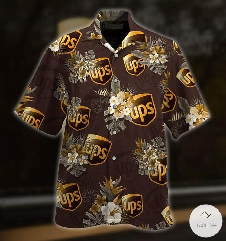 UPS Hawaiian Shirt