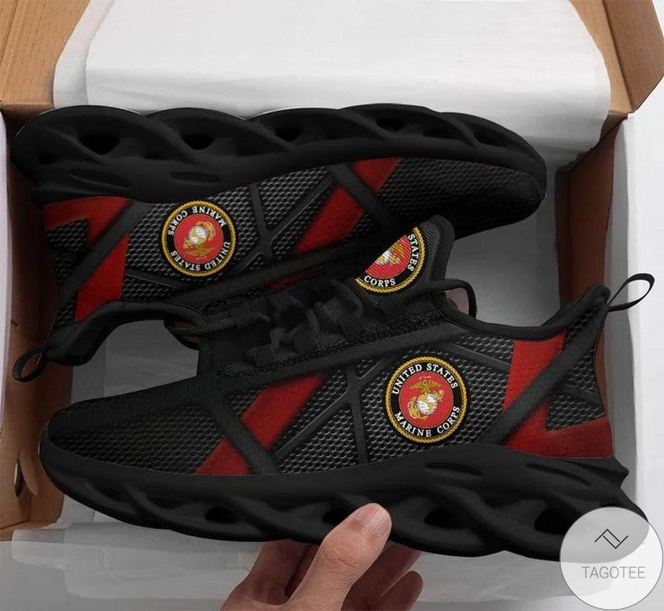 US Marine Logo Sneaker Max Soul Shoes