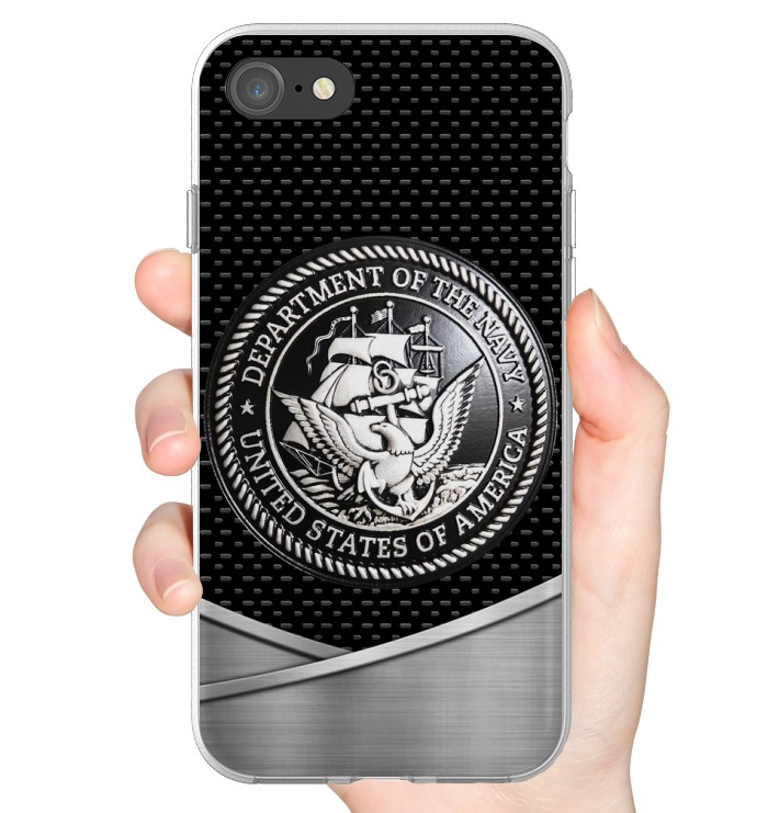 United States Navy as metal phone case 7