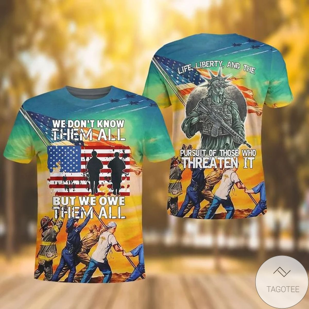 Veteran We Don't Know Them All But We Own Them 3d Shirt