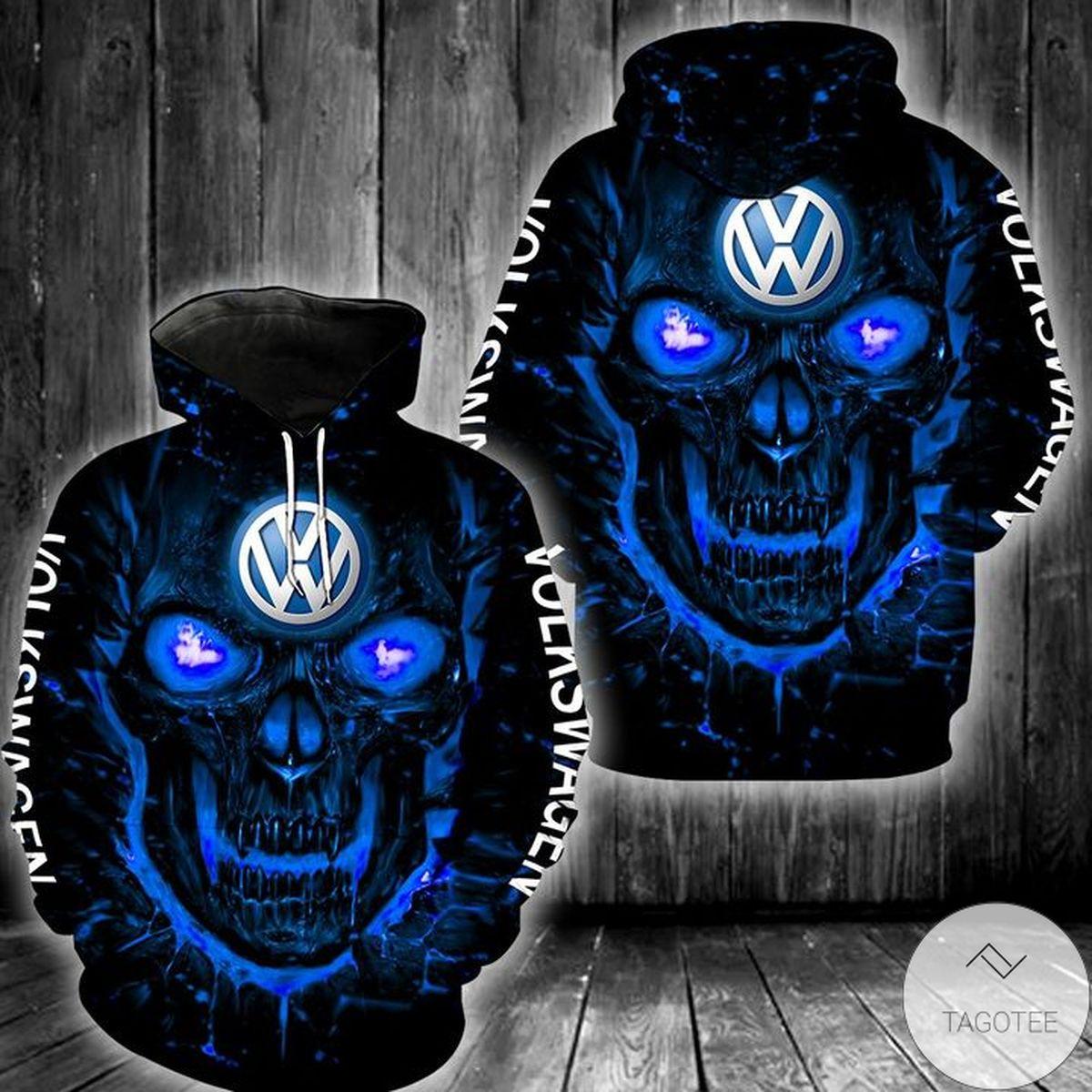 Volkswagen Lava Skull 3d Hoodie