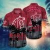 Washington State Cougars Hawaiian Shirt, Beach Short
