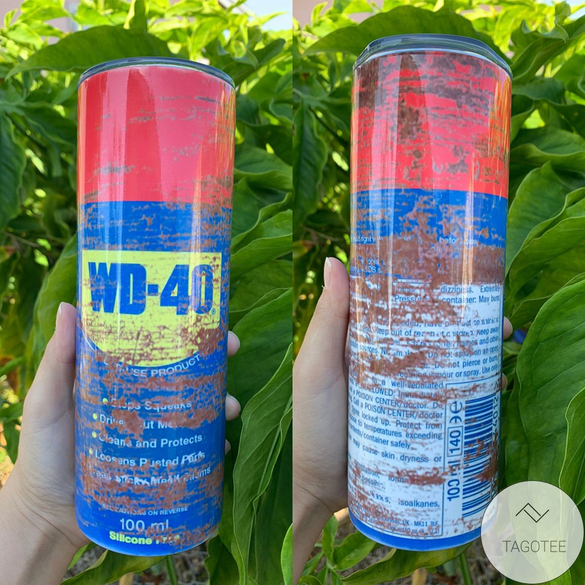 Wd-40 Skinny Tumbler