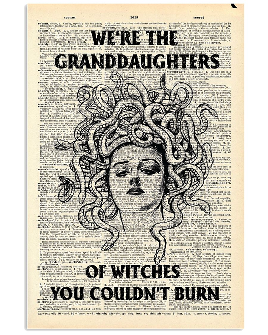 We're the granddaughters of the witches you couldn't burn poster 1
