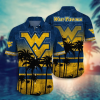 West Virginia Mountaineers Tropical Hawaiian Shirt, Beach Short