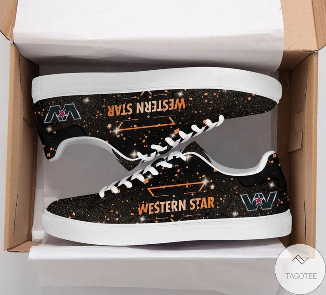 POD Western Star Glitter Stan Smith Shoes