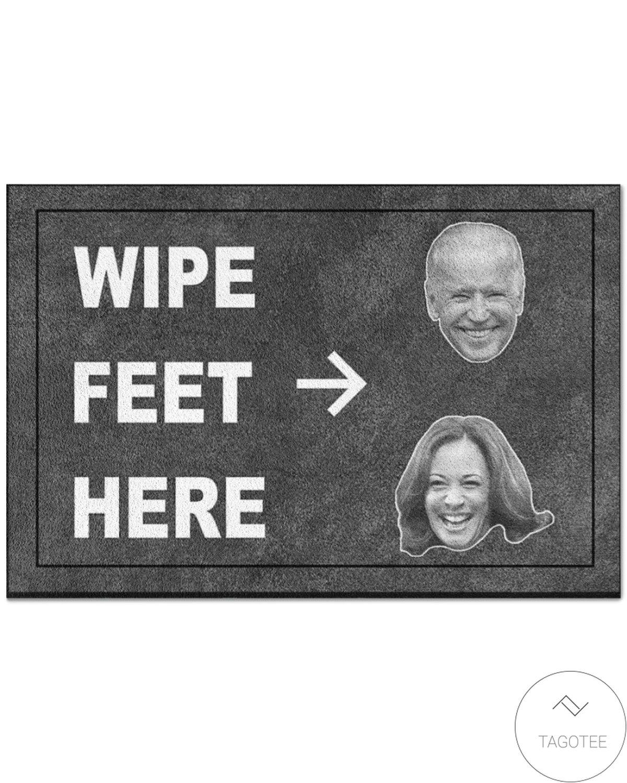 Wipe Your Feet Here Joe Biden Kamala Harris Doormat