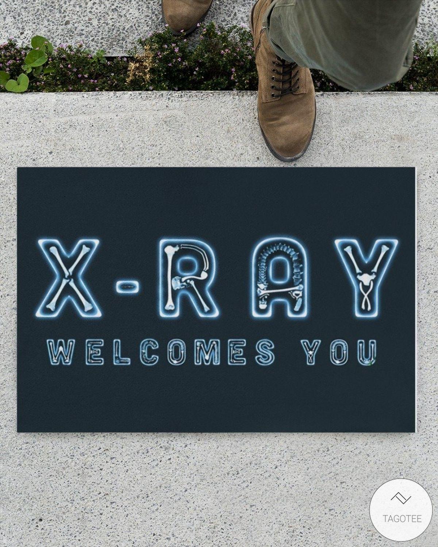X-Ray Welcome You Doormat