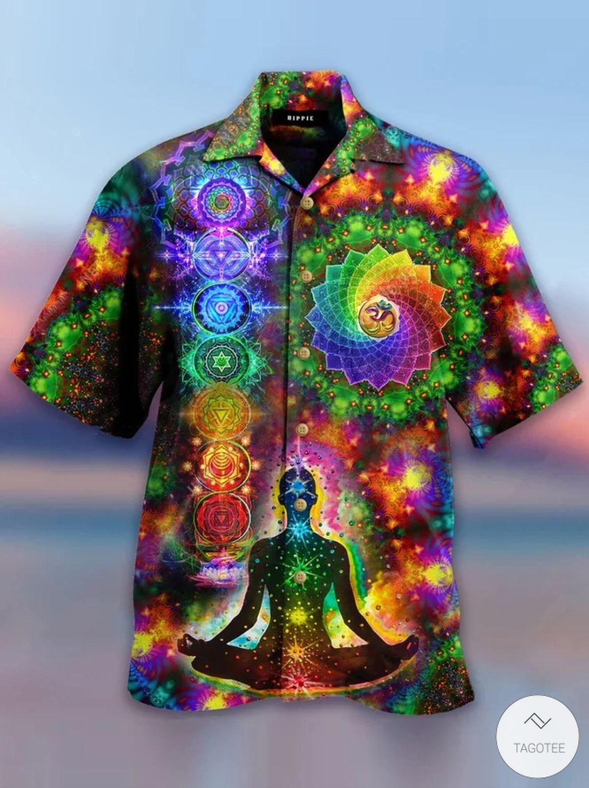 Yoga Trippy Hawaiian Shirt