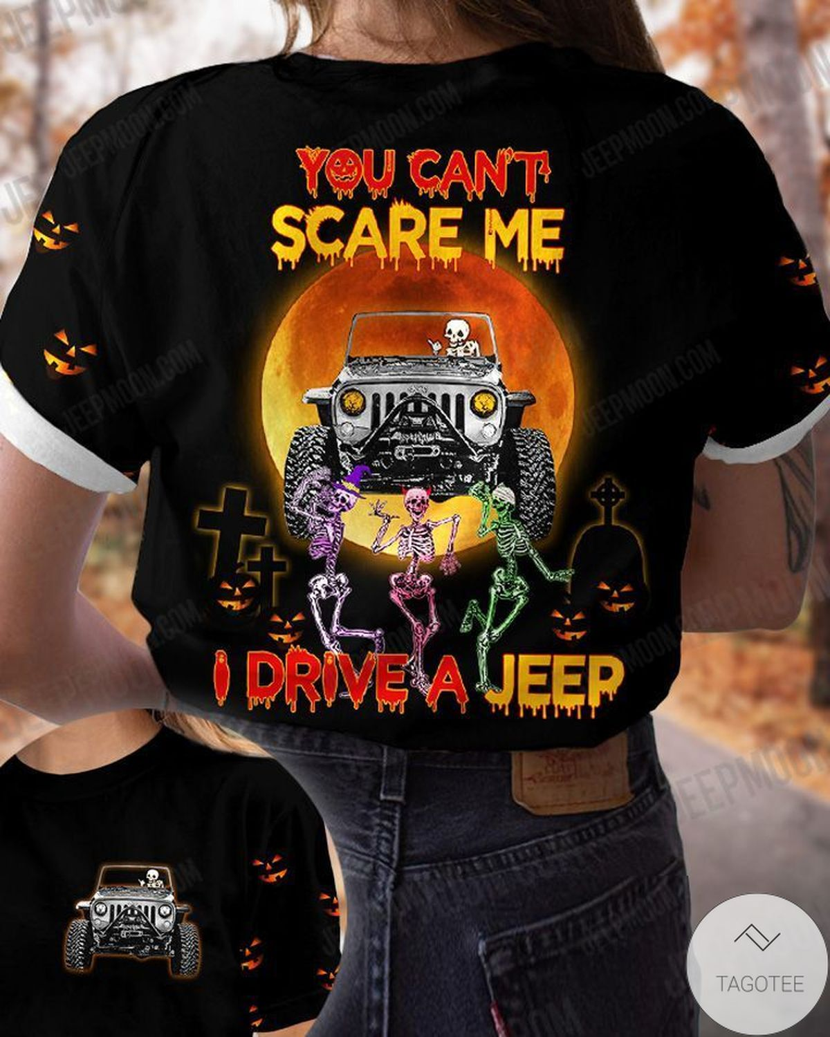 You Can't Scare Me I Drive A Jeep T-Shirt