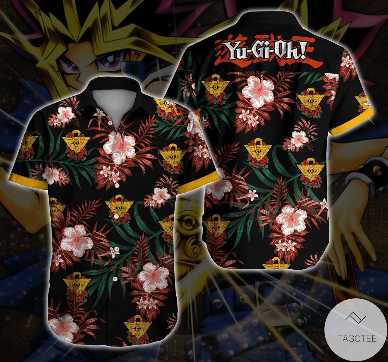 Yugi Yugioh! Hawaiian Shirt