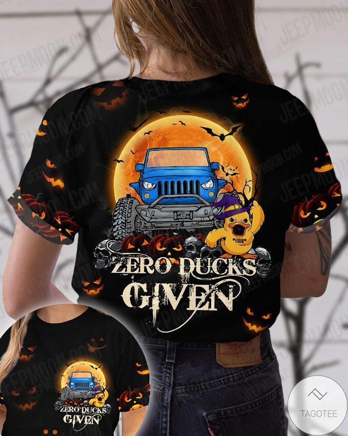 Zero Duck Given Jeep T-Shirt