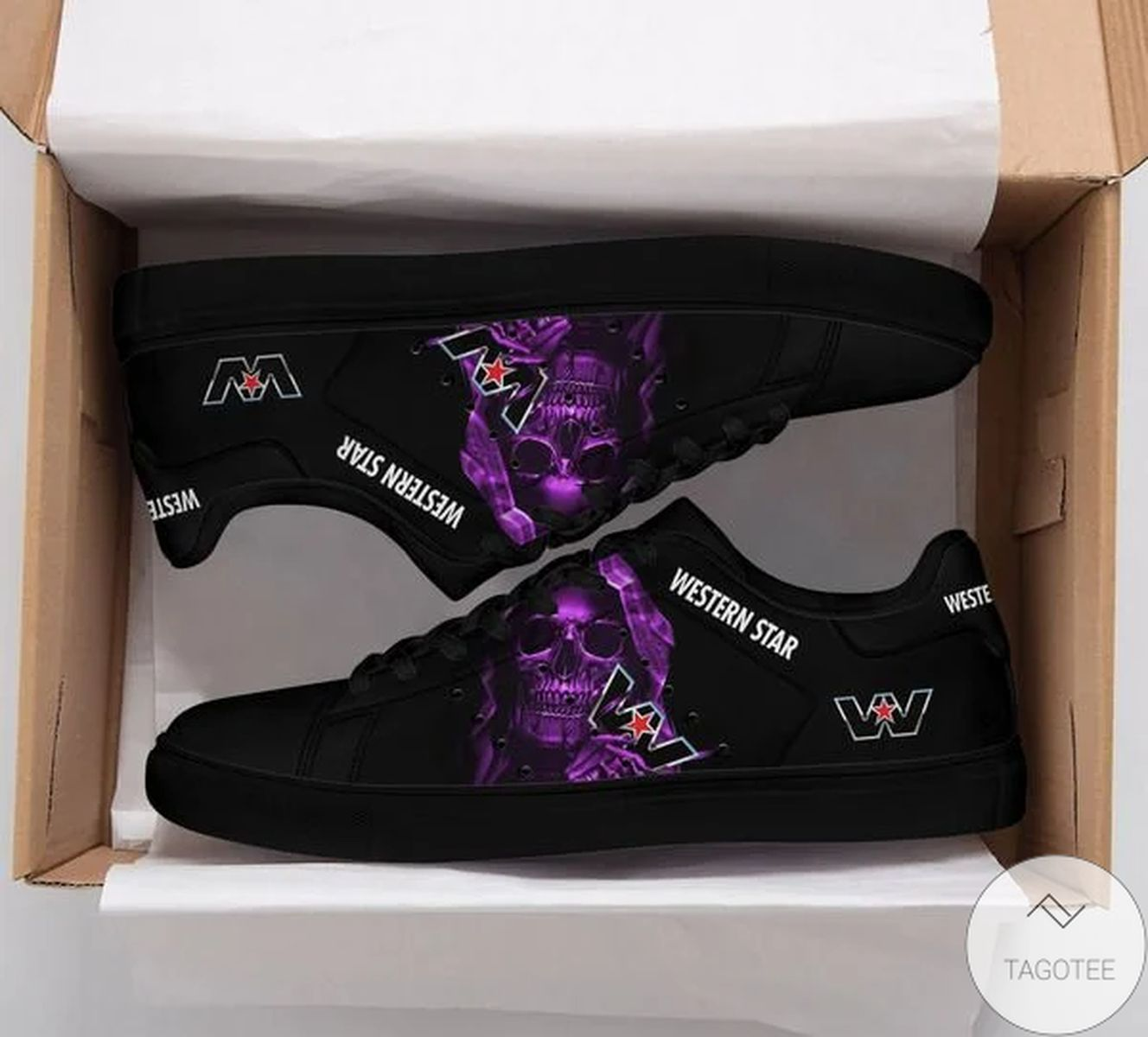 Western Star Skull Stan Smith Shoes