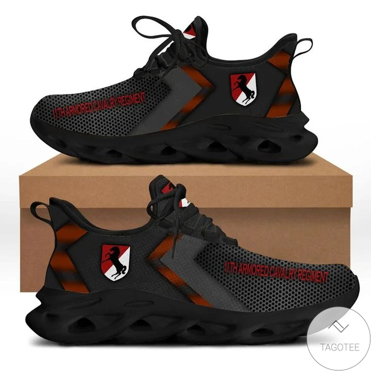 11th Armored Cavalry Regiment Max Soul Shoes