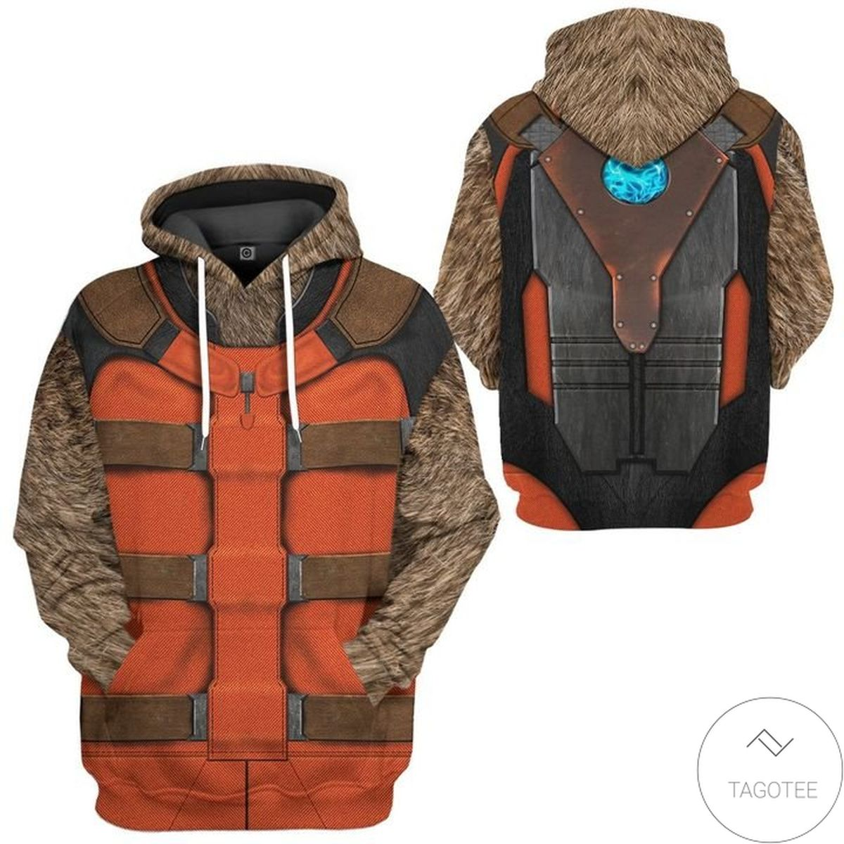 3d Guardian Of The Galaxy Rocket Racoon Costume 3d Hoodie