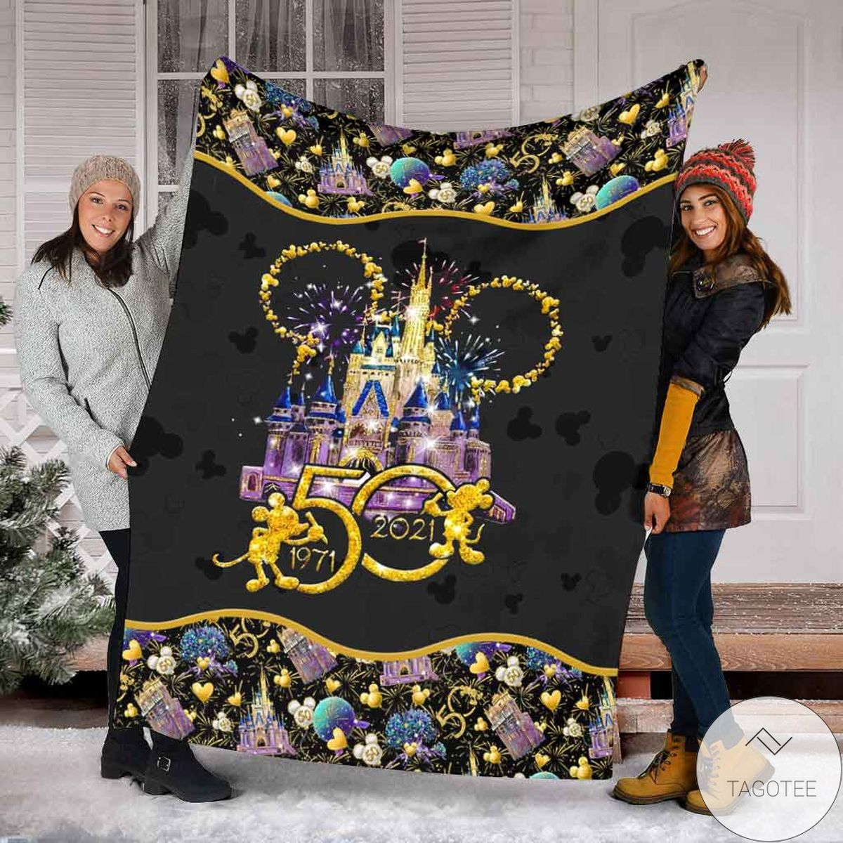 50 Years Of Magic Mickey Mouse Blanket