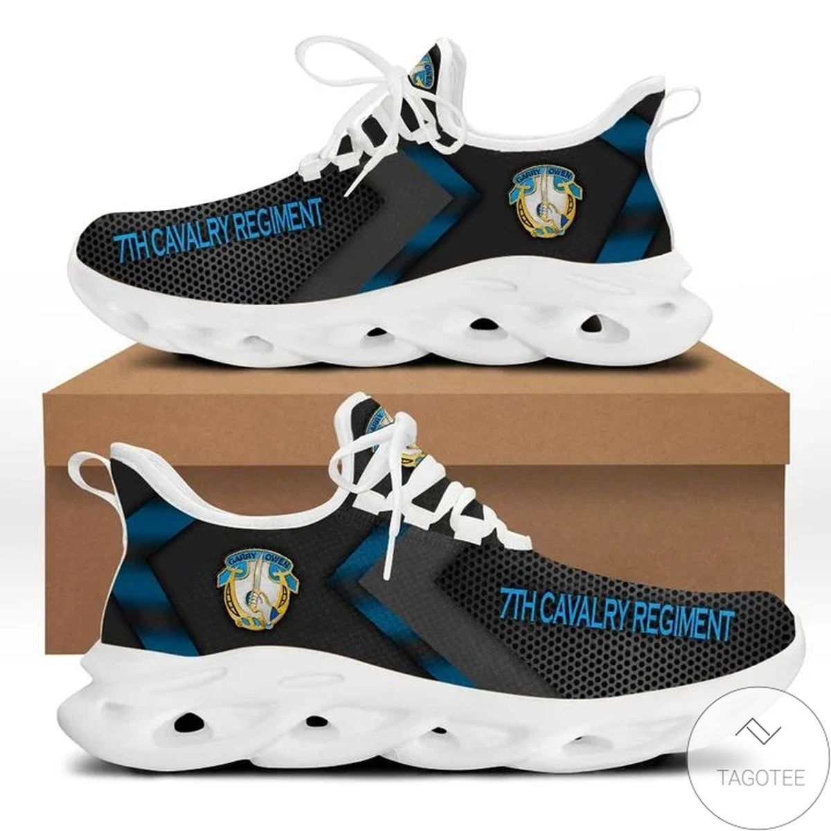Ships From USA 7th Cavalry Regiment Max Soul Shoes