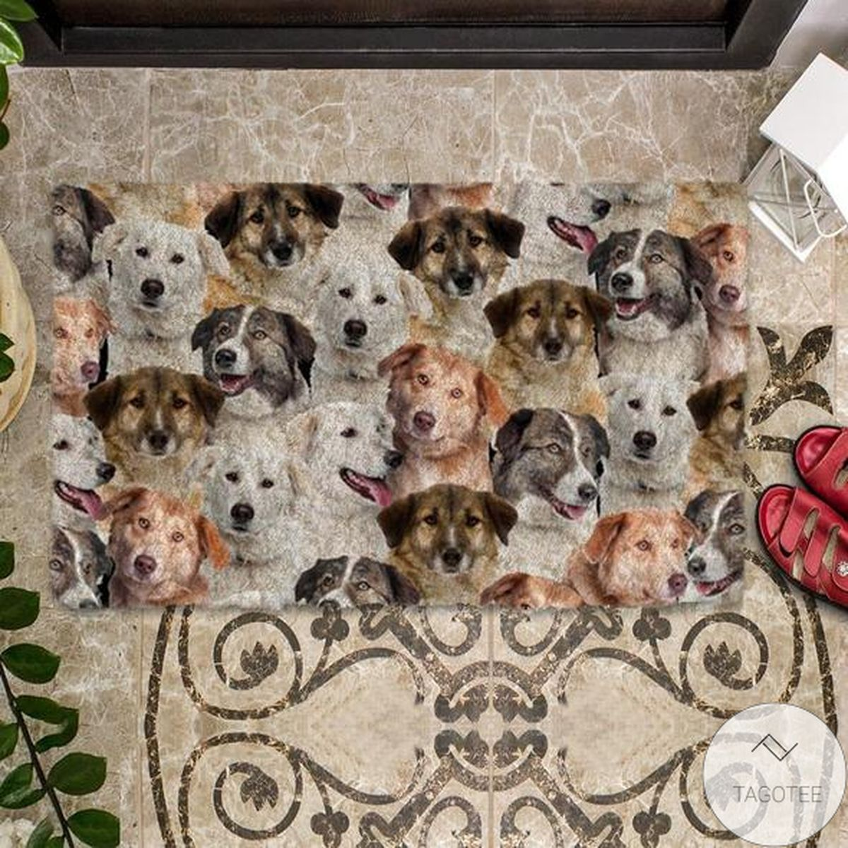 Great Quality A Bunch Of Aidies Doormat