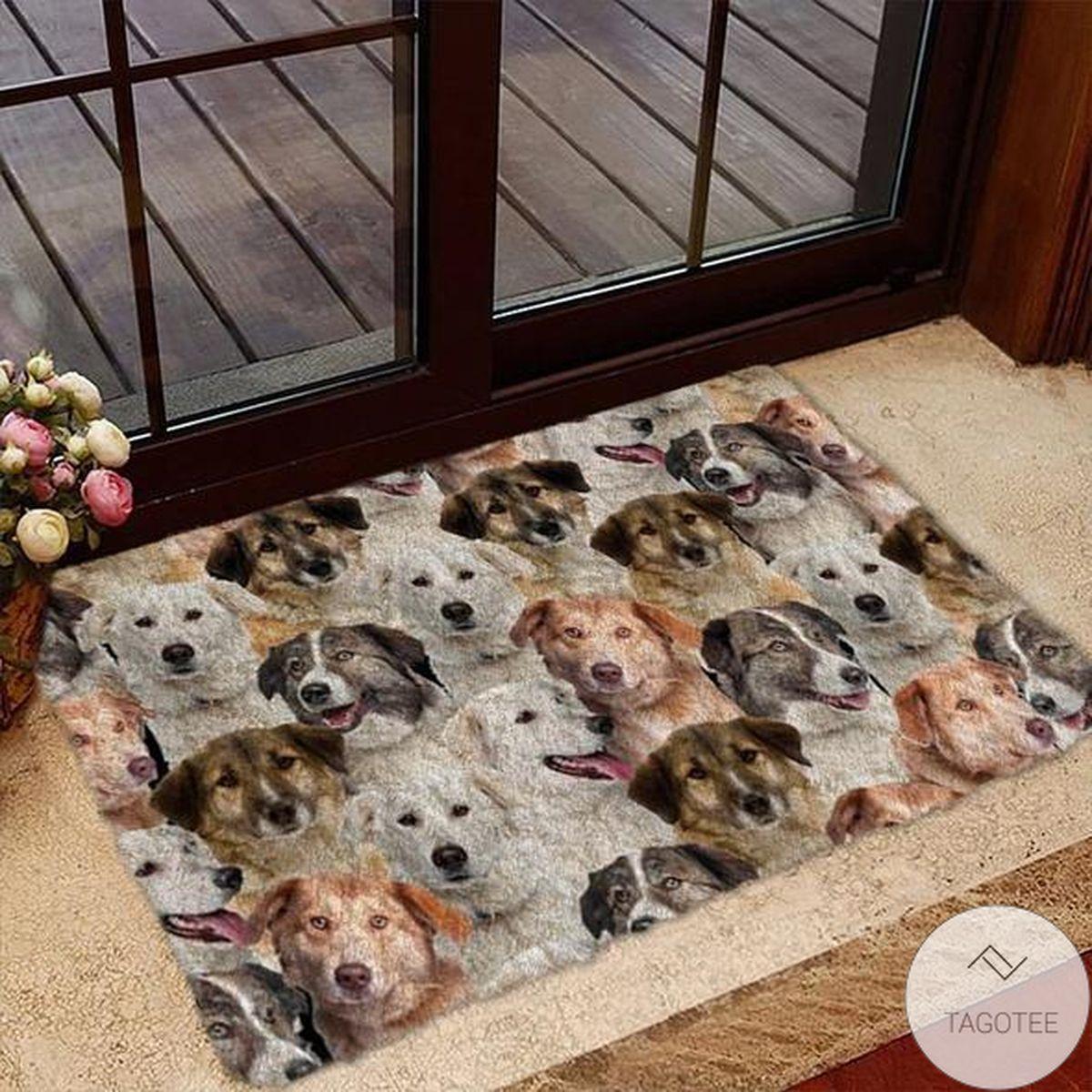A Bunch Of Aidies Doormat