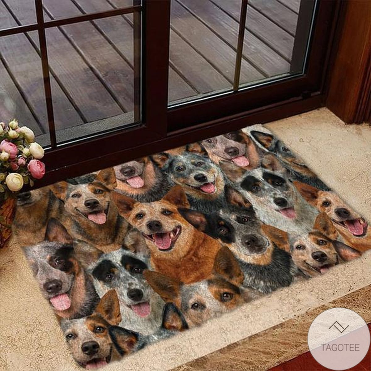 Limited Edition A Bunch Of Australian Cattles Doormat