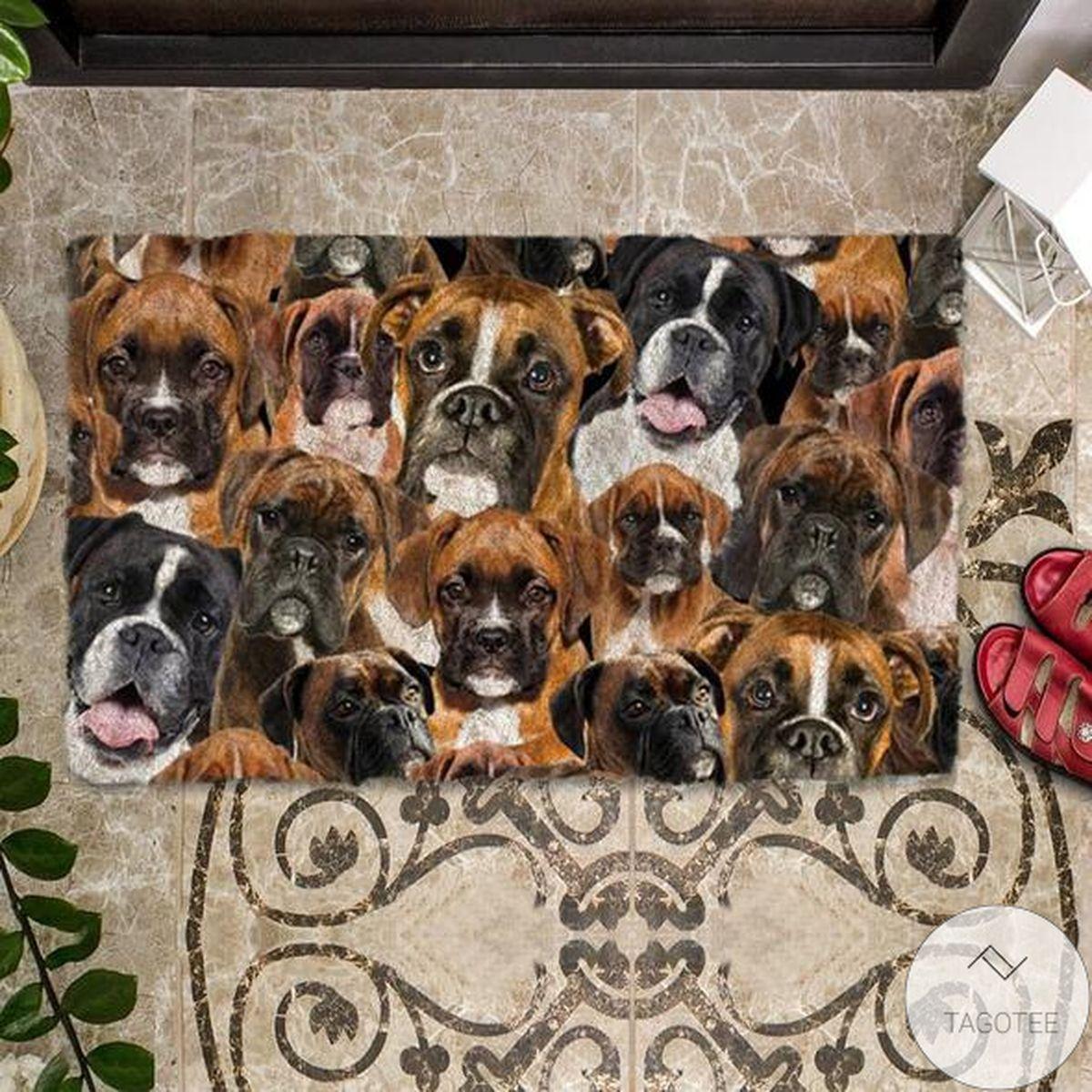 Popular A Bunch Of Boxers Doormat