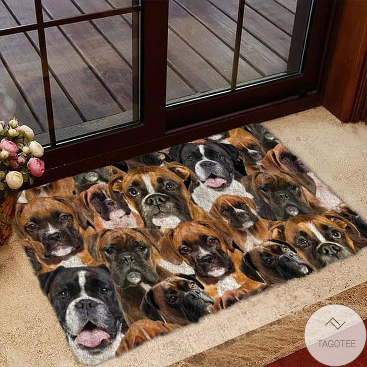 A Bunch Of Boxers Doormat