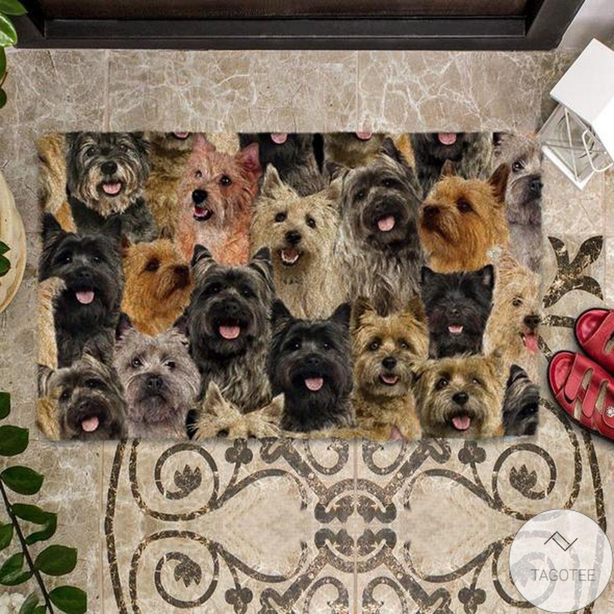 Unisex A Bunch Of Cairn Terriers Doormat